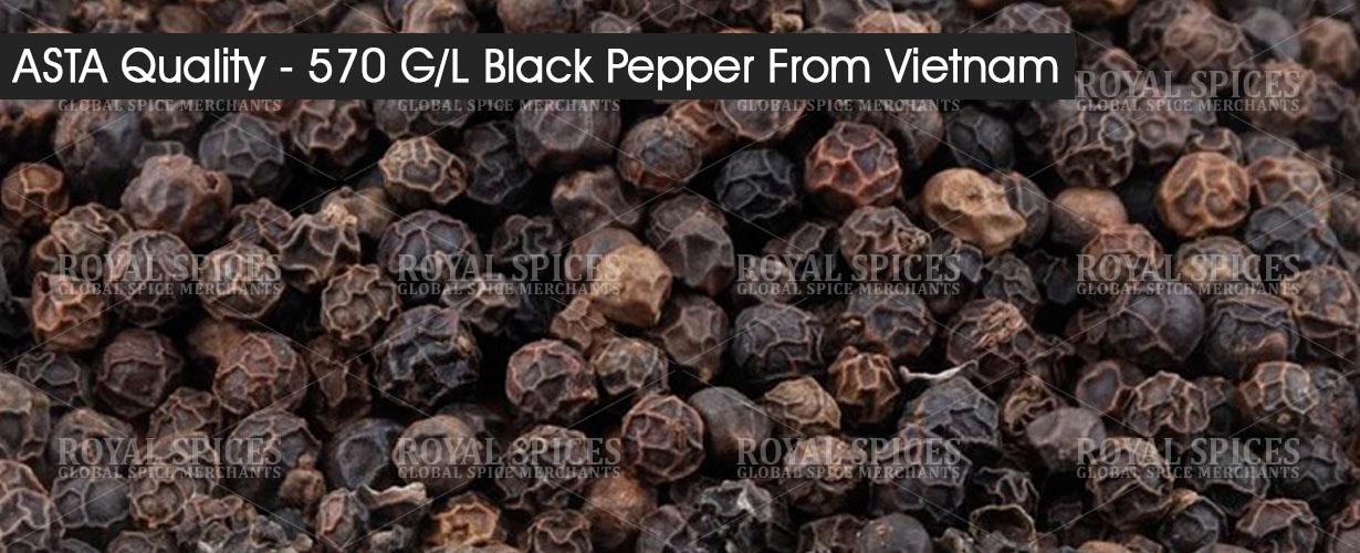 asta quality 570 gl black pepper