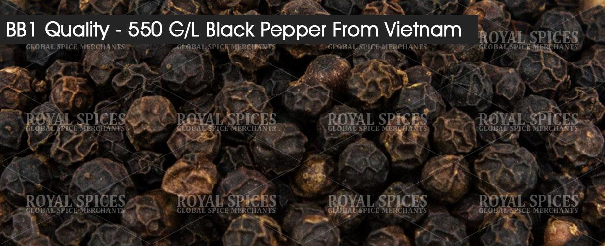 bb1 quality 550 gl black pepper