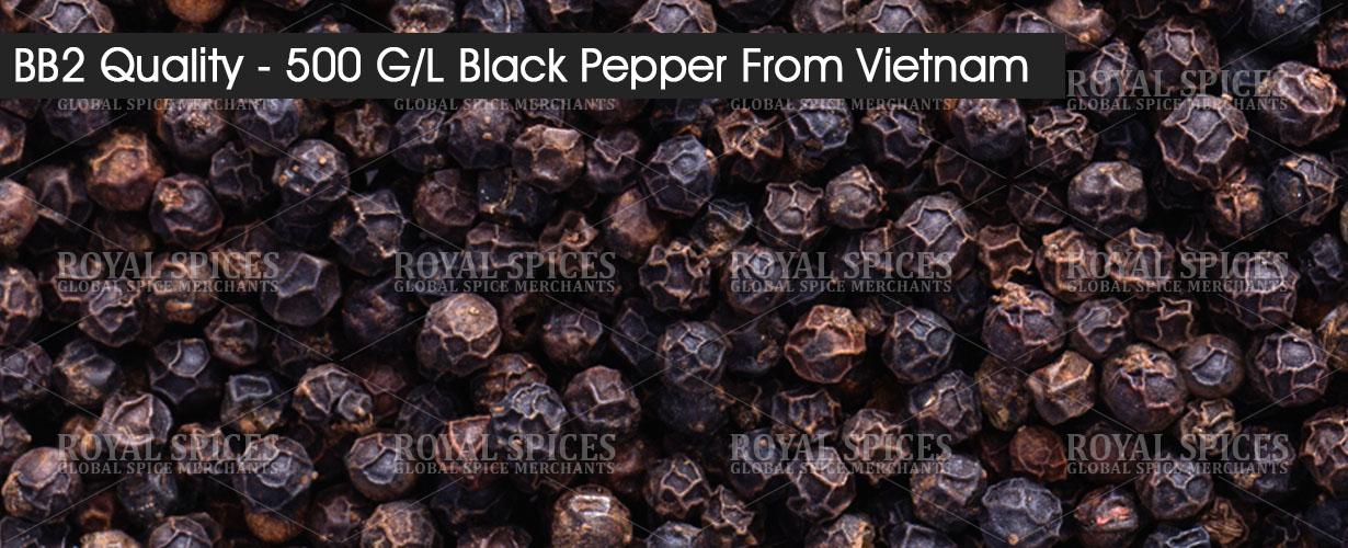 bb2 quality 500 gl black pepper