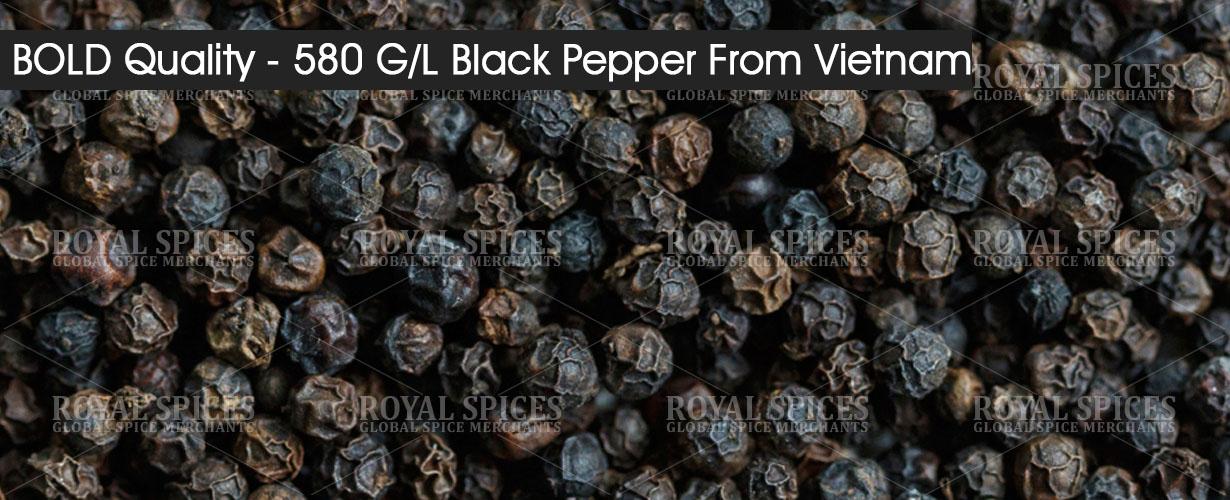 bold quality 580 gl black pepper